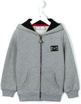 Philipp Plein 'Blurred Lines' hoodie