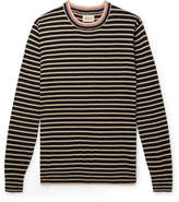 Bellerose - Striped Cotton and Wool-Blend Sweater