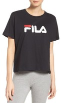 Fila Women's Miss Eagle Logo Tee