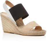 Charles David Odessa Color Block Espadrille Wedge Sandals