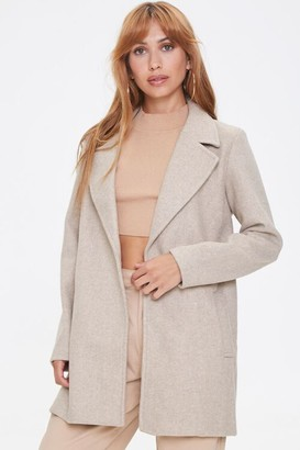 Forever 21 Heathered Fleece Blazer
