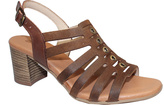 Eric Michael Brown Leather Misty Sandal