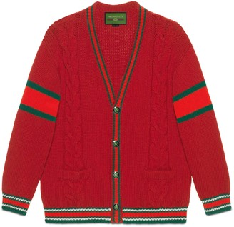 Gucci DIY unisex wool cardigan