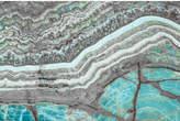 Parvez Taj Blue Grey Mountain Art Print on Canvas