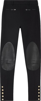 Burberry Panelled Skinny Trousers