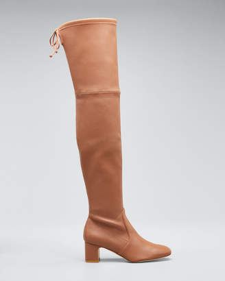 Stuart Weitzman Kirstie 60mm Napa Leather Over-The-Knee Boots