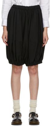COMME DES GARÇONS GIRL Black Wool Cropped Trousers