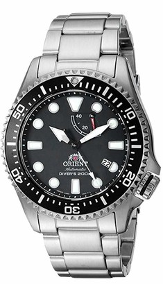 Orient Men's Neptune Japanese Automatic / Hand Winding Stainless Steel Bracelet Diver Watch