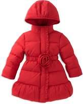Kate Spade Girls' Rosette Puffer Coat