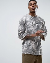 Criminal Damage Camo Half Sleeve T-shirt