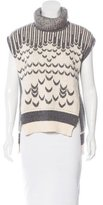 Prabal Gurung Patterned Sleeveless Sweater