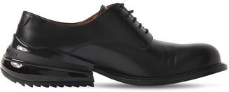 Maison Margiela Airbag Heel Leather Lace-Up Shoes