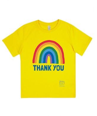 Little Mistress X Kindred Rainbow Thank You Nhs Kids Buttercup Yellow Rainbow Classic Jersey T-Shirt
