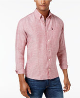 Barbour Linen Button-Down Shirt