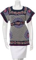 Anna Sui Knit Wool T-Shirt