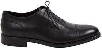 Tod's Black Leather Lace ups