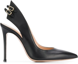 Gianvito Rossi Ric pointed pumps