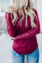 Rosalie Zipper Sleeve Top
