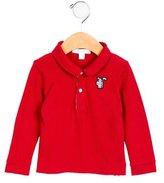 Burberry Boys' Nova Check-Accented Polo Shirt