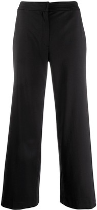 Christian Dior Pre-Owned cropped wide-leg trousers