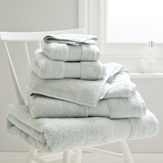 The White Company Luxury Egyptian Cotton Towel, Platinum, Face Cloth