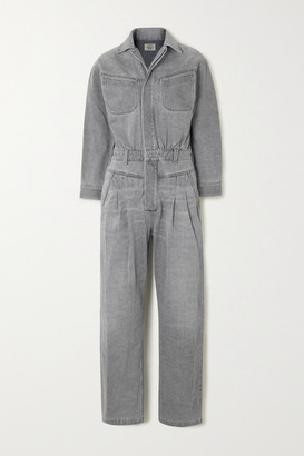 Citizens of Humanity Mae Denim Jumpsuit - Gray