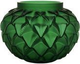 Lalique Languedoc Vase - Green - Large