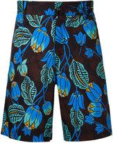 Pt01 floral print shorts - men - Cotton/Spandex/Elastane - 48