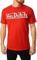 Von Dutch Men'sogo Graphic T-Shirt-arge
