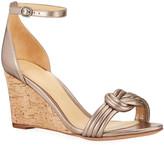 Alexandre Birman Vicky 75mm Leather Wedge Sandals