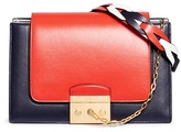 Mulberry 'Pembroke' colourblock leather satchel