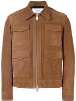 Ami Alexandre Mattiussi suede 4 pocket jacket