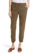 Rebecca Taylor Women's Crop Twill Utility Pants