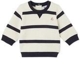 Petit Bateau Baby boys striped sweatshirt