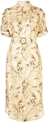 Zimmermann button-down midi dress