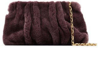 Elleme Vogue shearling shoulder bag