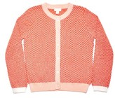 Margherita Toddler Girl's Honeycomb Knit Cardigan