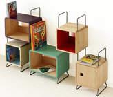 MOOD Kid's Corto Solid Wood Five Module Bookcase