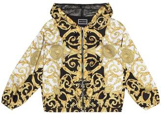 Versace Kids Printed jacket