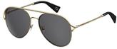 Safilo USA Marc Jacobs 168 Aviator Sunglasses