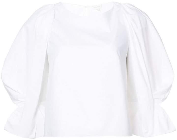 DELPOZO ruffle trim blouse