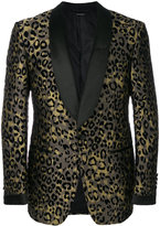 Tom Ford leopard print blazer