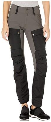 Fjallraven Keb Trousers (Dark Garnet/Plum) Women's Casual Pants
