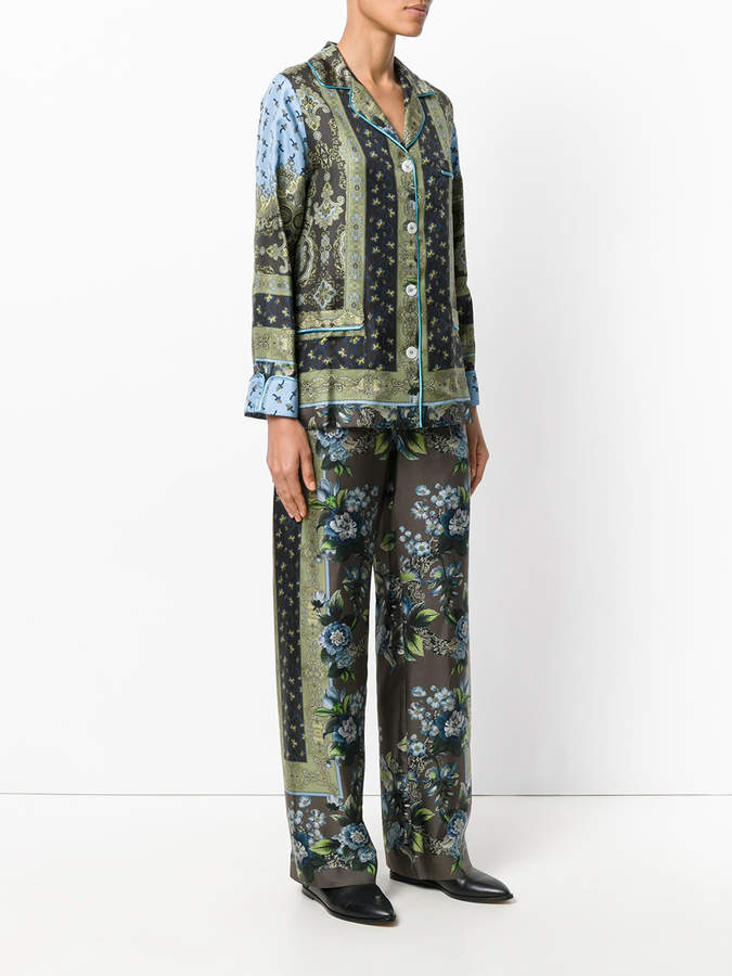 F.R.S For Restless Sleepers Poseidone printed suit