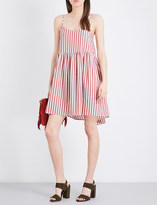 The Great Terrace striped cotton dress
