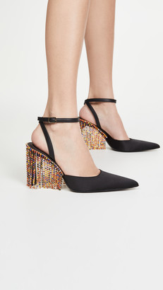 Area Crystal Chandelier High Heels