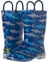 Western Chief Deep Sea Sharks Lighted Rain Boot(Toddler/Little Kid)