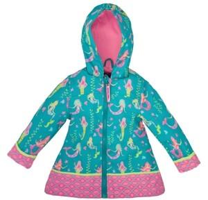 Stephen Joseph Toddler Girls All Over Print Raincoat
