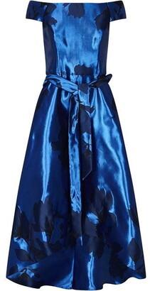 Ariella London Naida Jacquard Scoop Dress