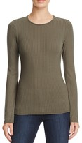 Aqua Ribbed Bell Sleeved Top - 100% Exclusive